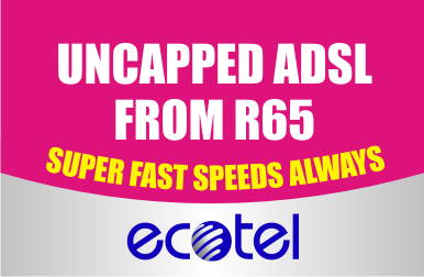 Uncapped adsl packages south africa
